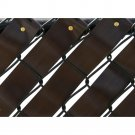 Pexco Fence Weave Roll - Brown -  FW250-BRN
