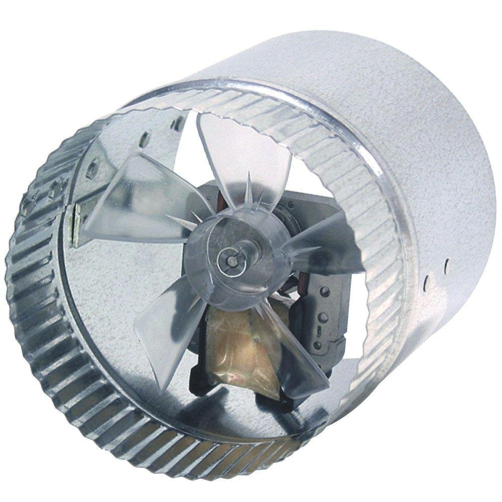 In Line Duct Booster Fan : Suncourt db inductor in line duct booster fan