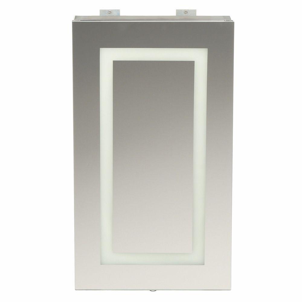 bay sp4627a medicine cabinet w led lighted mirror motion sensor. Black Bedroom Furniture Sets. Home Design Ideas