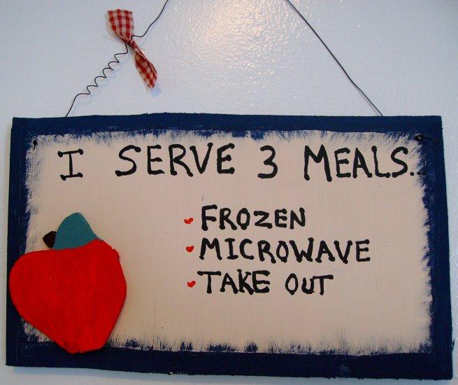 i serve 3 meals...