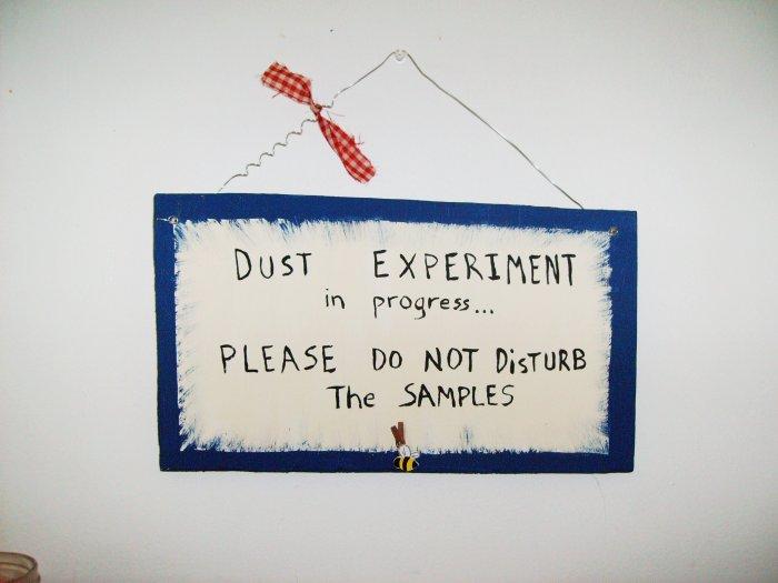 dust expierment