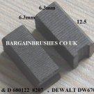 CARBON BRUSHES DEWALT P2211 P2213 P2214 P2219 P2270 P5404 P5416 P5417 P7315 - A3
