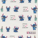 Stitch & Scrump Nail Art Decals ~ Water Slide Transfer Stickers