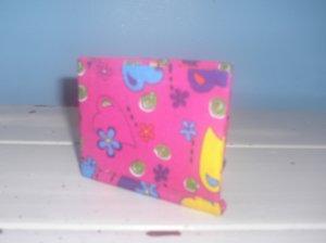 Pink Hearts Bi-Fold Wallet