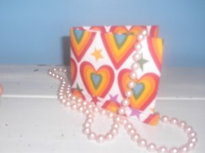 Rainbow Hearts Bi-Fold Wallet