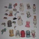 Paper Doll Set - Flower Girls