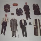 Paper Doll Set - Preacher and Best Man