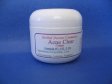 Acne Clear Cream 2 oz C-155