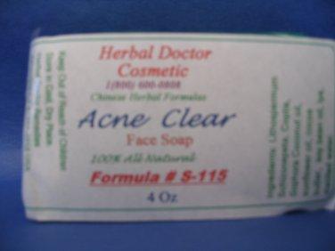 Acne, Rosacea soap 4 oz S-115