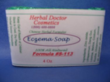 Eczema healing soap 4 oz S-113
