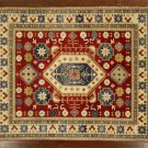 New Oriental Rug, Super Kazak Wool 8' X 10' Hand Knotted Tribal Design Rug S480