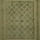 """Overdyed   Hand Knotted Wool Area Rug   Free Pad   4' 5"""" x 5' 8"""" - P118"""