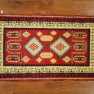 Red, Hand Knotted Persian Style Oriental Rug 3' X 5' | H2708