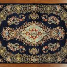"New Hand Knotted Signed Isfahan 5' 3"" X 7' 5"" Persian Wool & Silk Rug GZT417"