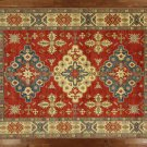 "Oriental Rug Super Kazak Wool 10' 10' X 15' 8"" Hand Knotted Tribal Rug S469"