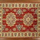Oriental Rug, Fine Kazak 100% Wool 9' X 12' Hand Knotted Tribal Design Rug S459