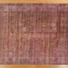Light Eggplant Color Overdyed Persian Area Rug 9X12 Hand Knotted Wool Rug H3040