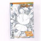 Larfleeze #1 (1:25) Tyler Kirkham, Matt Batt Banning Variant B&W Cover DC Comics