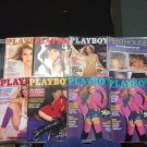 Playboy & Penthouse Lot of 8 Jul 1979 Apr x2 Oct 1980 Jan Jun 1981 Sep 1983