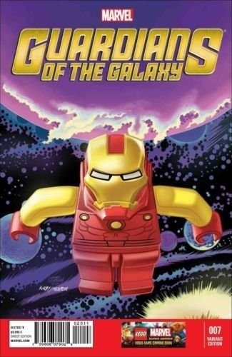 GUARDIANS OF THE GALAXY (2013) #7 (CASTELLANI LEGO VARIANT) NM Marvel Now!