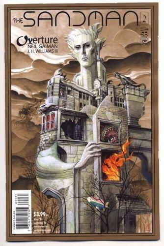 Sandman Overture #2 1:100 J.H. Williams III Metallic Bronze Ink Variant Cover