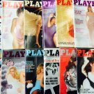 Playboy 1979 Full Year Set w/ Centerfolds 25th Anniversary Issue Arthur C Clarke