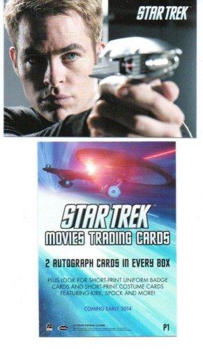 STAR TREK MOVIES 2014 (4) SEALED BOXS OF CARDS - FREE US SHIPPING - 2 HITS / BOX