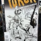 Turok Dinosaur Hunter #1 1:200 Greg Pak Signed Silver Variant Cover