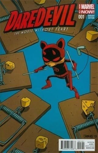 "Daredevil (Vol.4) #1 Samnee Animal ""Daredevil: The Mouse Without Fear"" Variant"