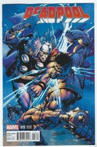 Deadpool #18 2012 Near Mint Neal Adams Thor Variant Cover Marvel Now