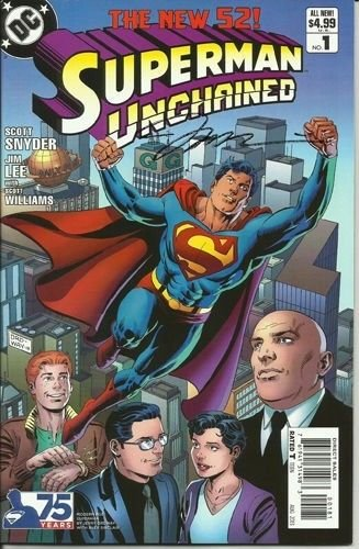 Superman Unchained #1 Modern Age Variant DC: The New 52! - Lee, Snyder, Williams