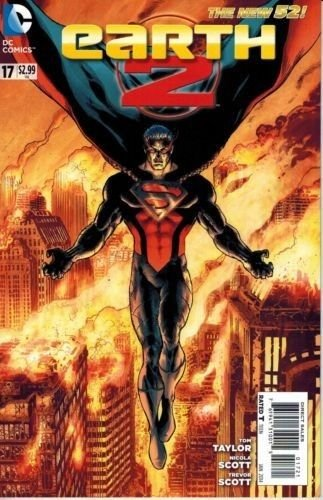 Earth 2 #17 Variant DC: The New 52!