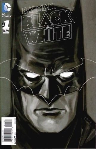 Batman Black and White #1 Phil Noto 1:25 Variant - DC: The New 52!