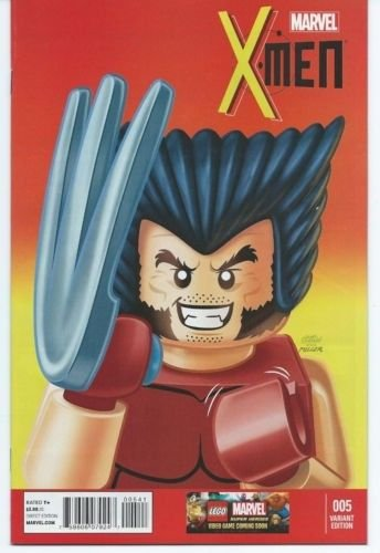 X-Men #5 (1:25) Leonel Castellani Lego Variant, Marvel Comics