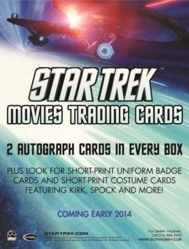 Star Trek 2014 Movies/Into Darkness ~ SEALED ARCHIVE BOX (18-Case Incentive)