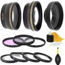 52mm Lens Filter Accessory Kit For Nikon DSLR Camera D5500 D3300 18-55mm Lens