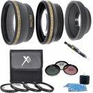 Lens Filter Starter Kit For Canon EOS T6i T5i T4i T3i T2i T1i SL1 T5 T3 XS