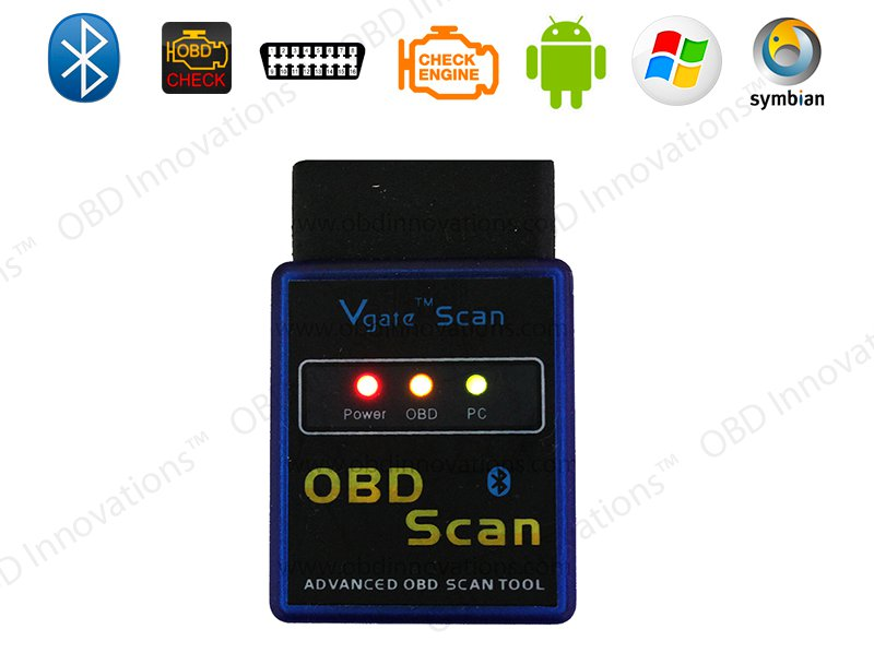 Vgate ELM327 Bluetooth OBD2 Car Diagnostics Scanner