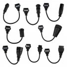 Truck Diagnostic Adapter Cables - Full Set