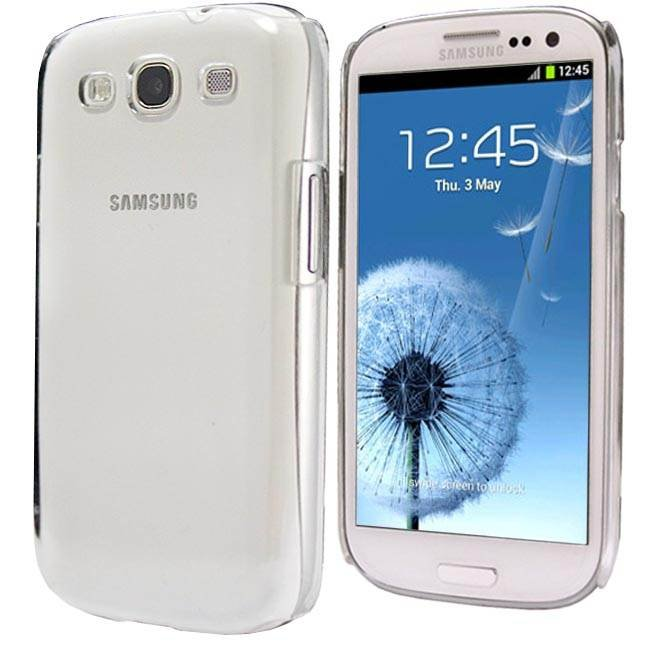 Thin Crystal Clear Hard Snap On Case for Galaxy S3 i9300