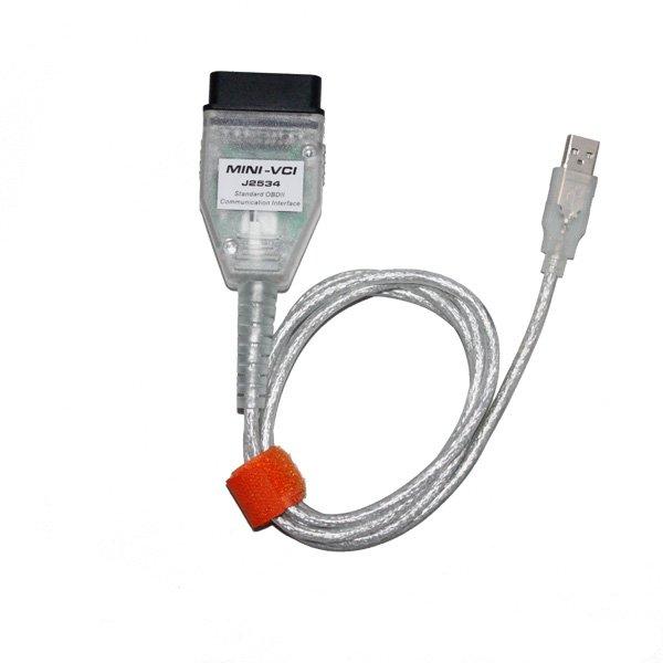 Mini VCI TIS Techstream J2534 OBD2 Diagnostic Scanner for Toyota