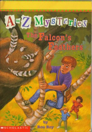 A to Z Mysteries The Falcon's Feathers by Ron Roy