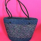 Cute Handmade Straw Tote Purse Handbag