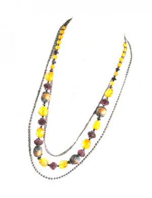 Long Antique Necklace