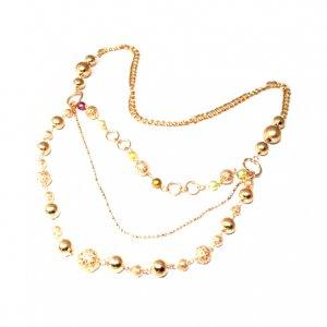 Three Tier Chain Necklace