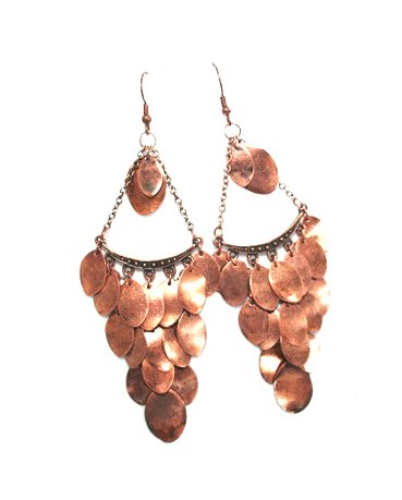 Triagular Oval Earrings