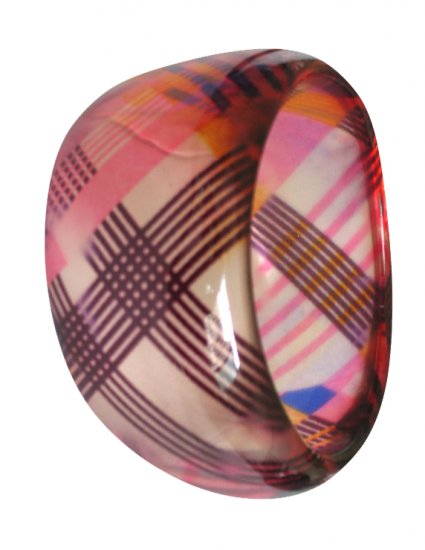 Plaid Bangle