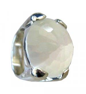 Ivory Stone Ring