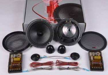 "VE-Audio VF65PM 6.5"" Components 400w Capable Sound Quality Entry Level VE Audio"