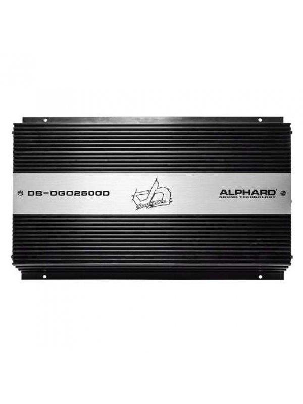 Alphard Sound Deaf Bonce DB-OGO-2500.1D 2500w